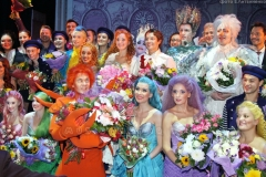 Русалочка -репетиция и премьера